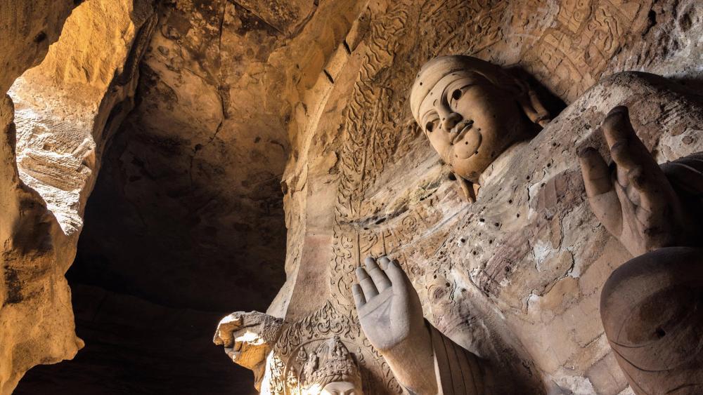 Yungang Grottoes wallpaper