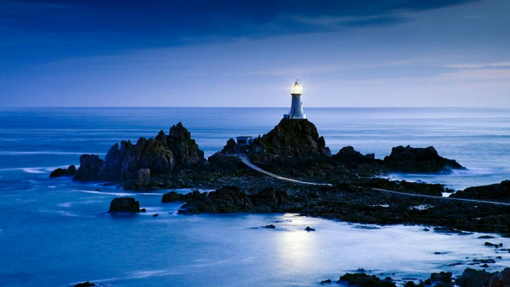 La Corbiere Lighthouse (Jersey) wallpaper