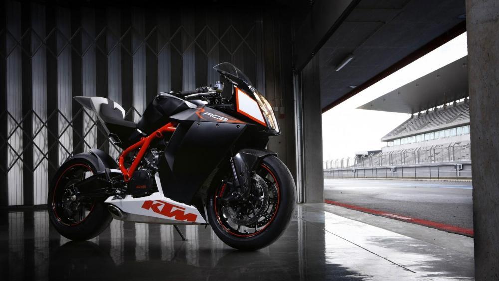 KTM 1190 RC8 superbike wallpaper
