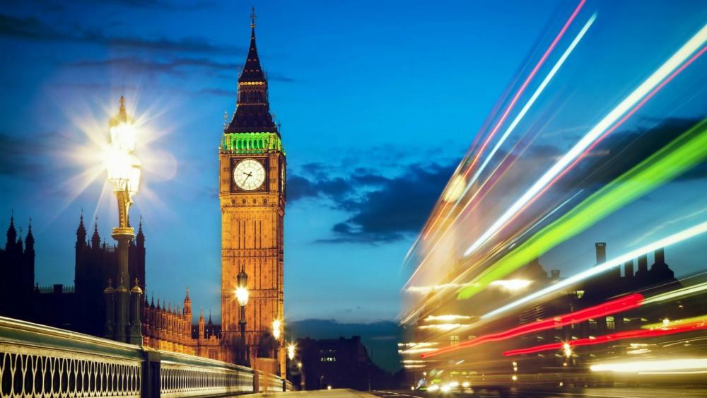 Big Ben from Westminster Bridge - London wallpaper