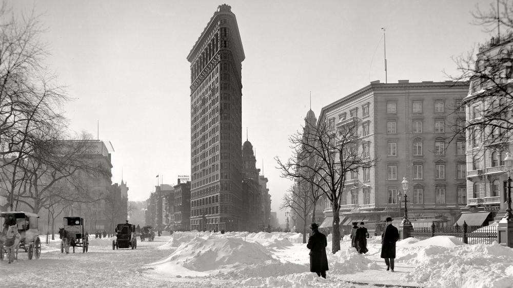 Old New York City (1905) wallpaper
