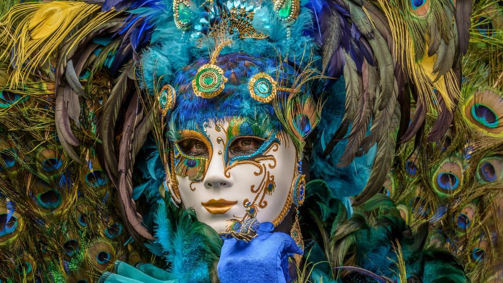 Masquerade ball wallpaper