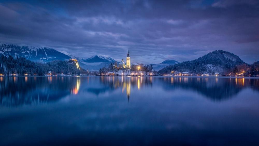 Lake Bled, Slovenia wallpaper