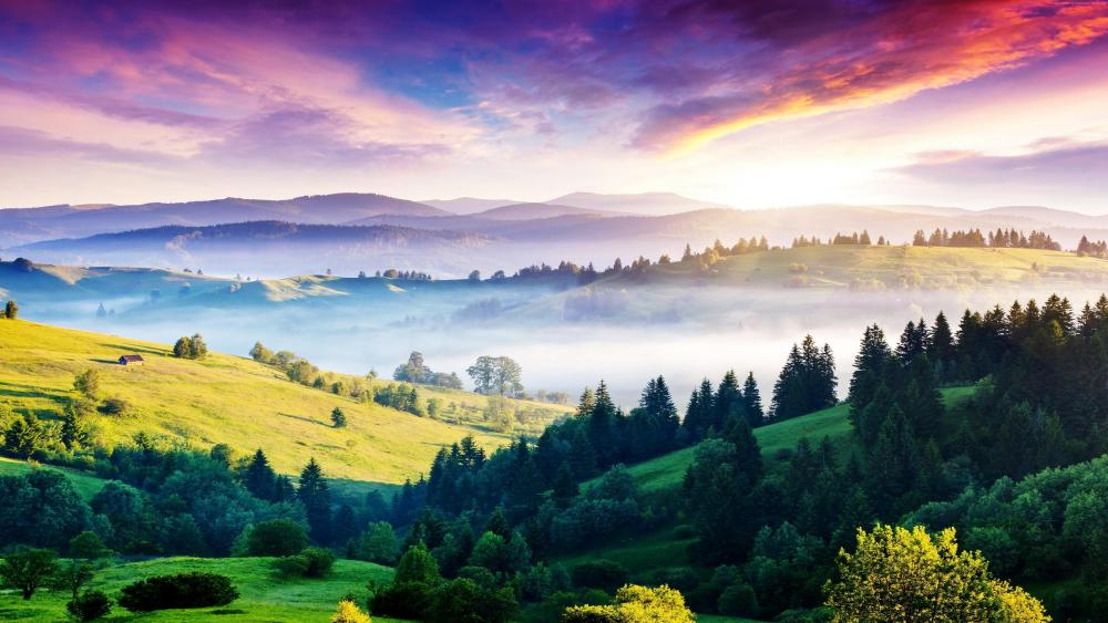 Carpathian Mountains - Ukraine wallpaper