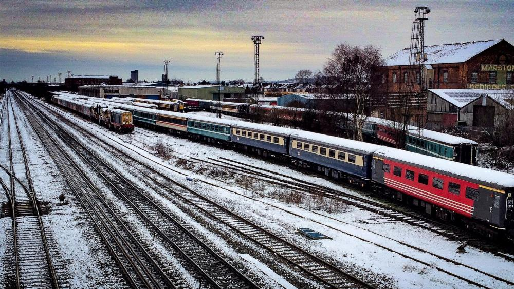 Marston railway station wallpaper