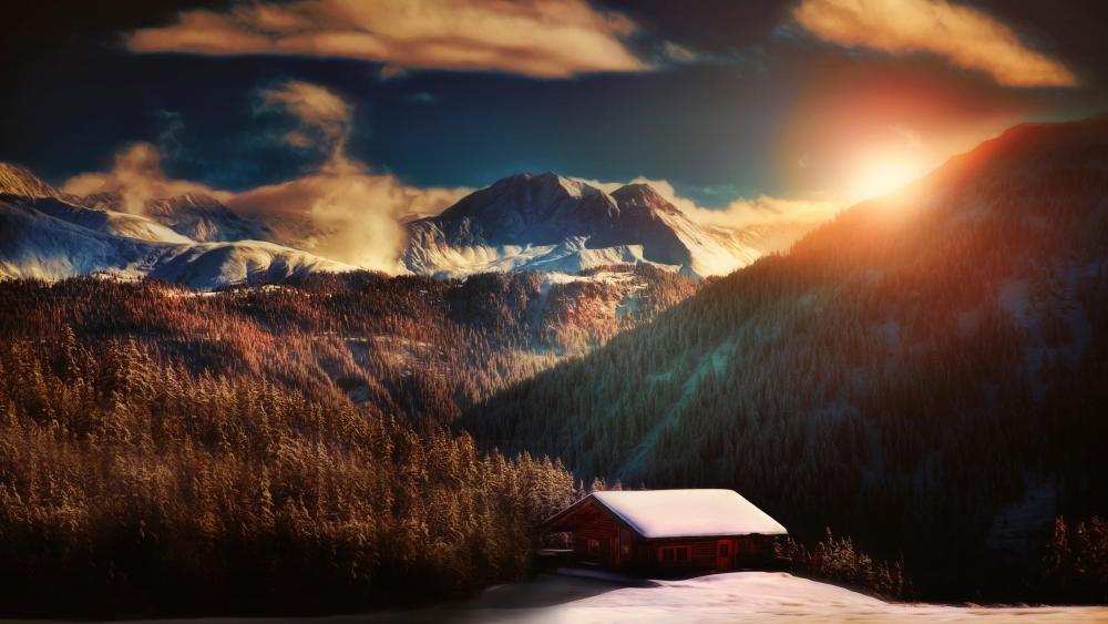 Alps, France wallpaper