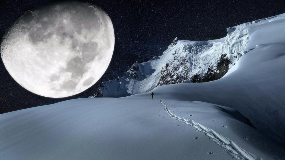 Moonlight imagination wallpaper