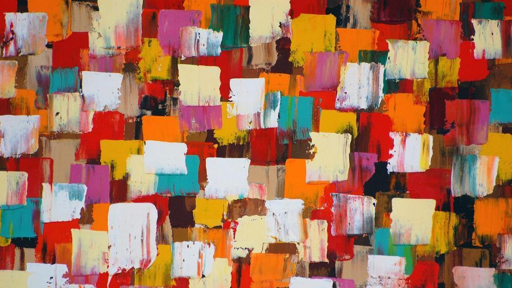 Strokes Painting wallpaper