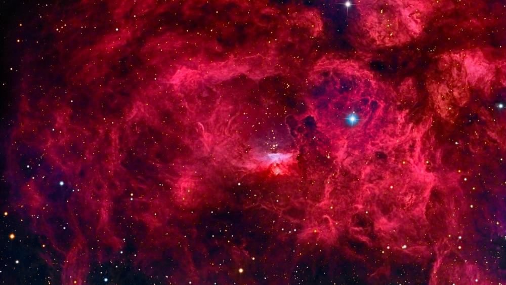 NGC 6357 Lobster Nebula wallpaper