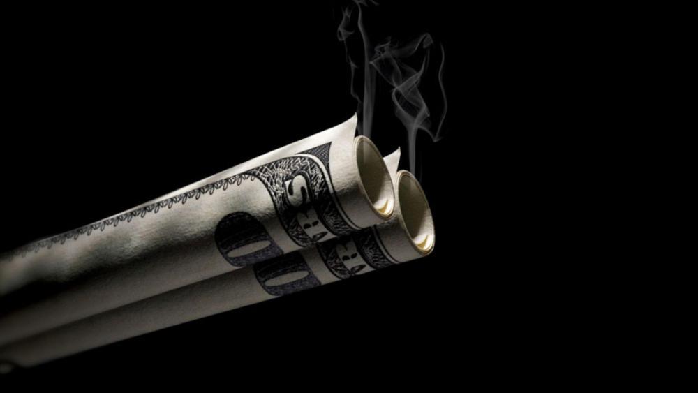 MONEY SMOKING wallpaper