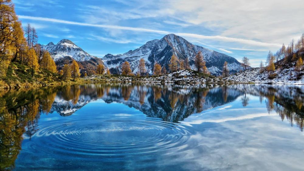 Lago dei Pozzöi (Switzerland) wallpaper
