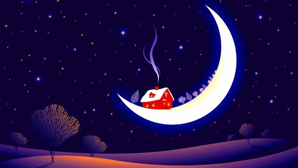 Moonlight - Fantasy art wallpaper