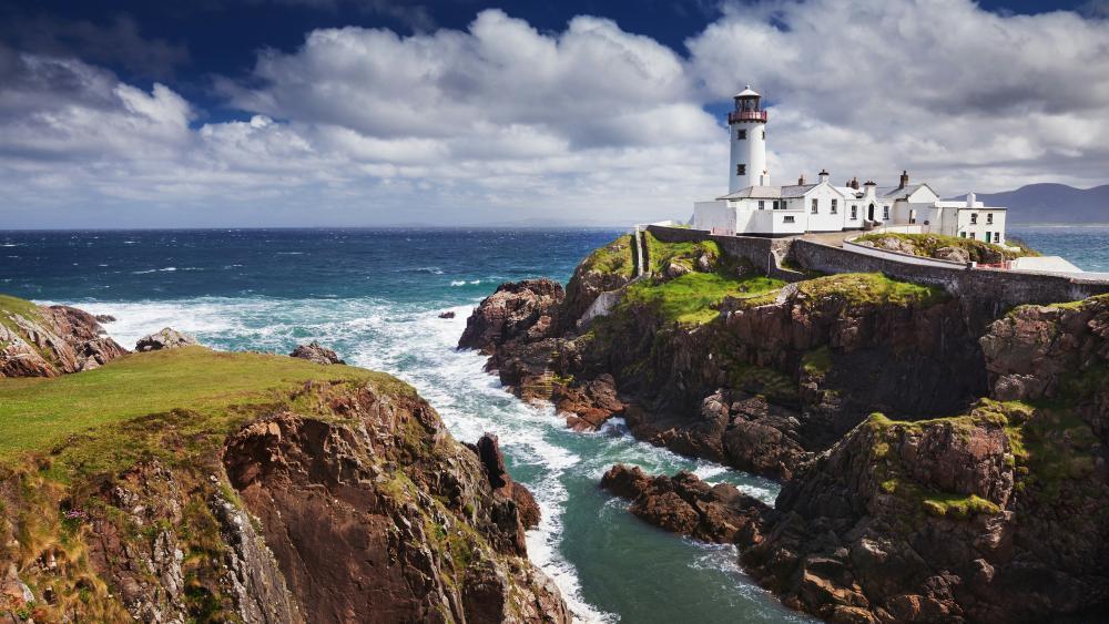 Fanad Head Lighthouse (Portsalon,Ireland) wallpaper