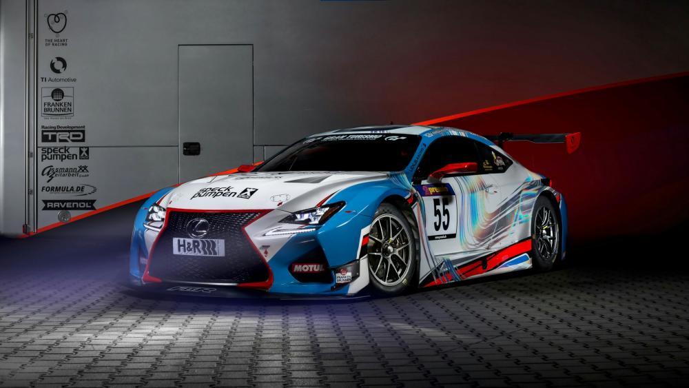 Lexus race car wallpaper