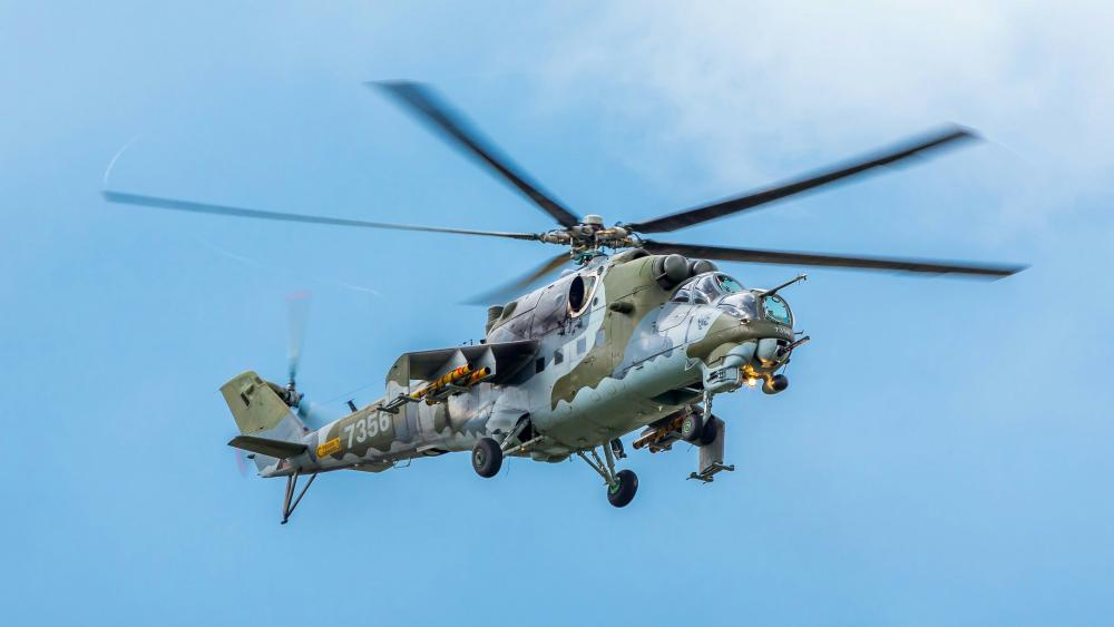 Mil Mi-24 military helicopter wallpaper