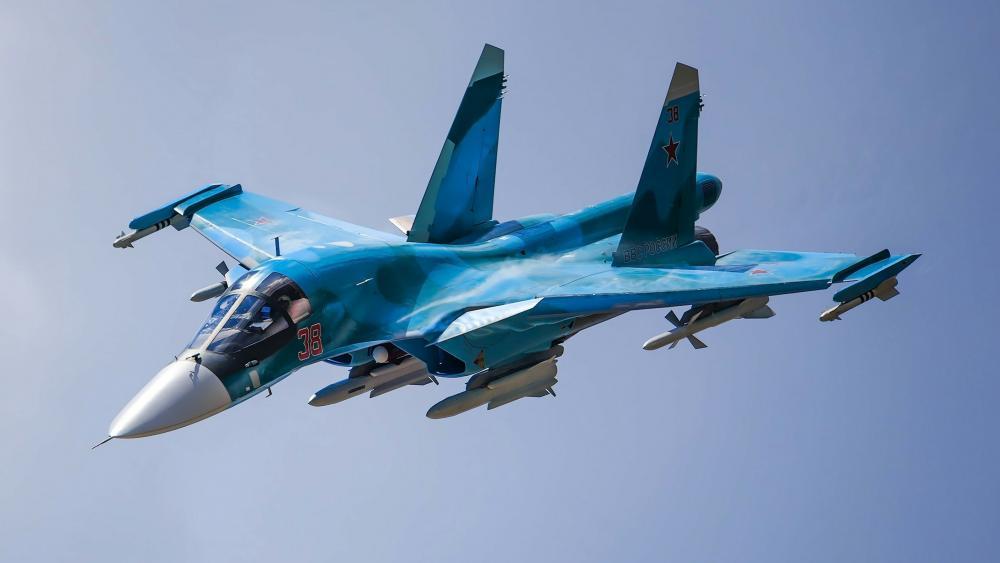 Sukhoi Su-34 wallpaper
