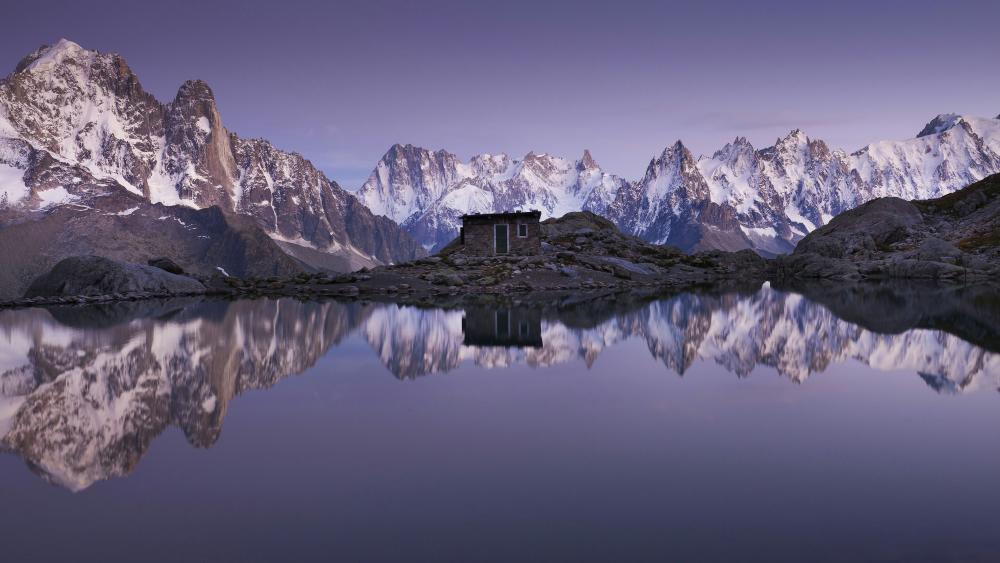 Lac Blanc (White Lake) wallpaper