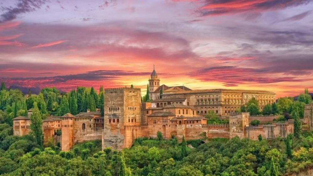 Alhambra Palace wallpaper