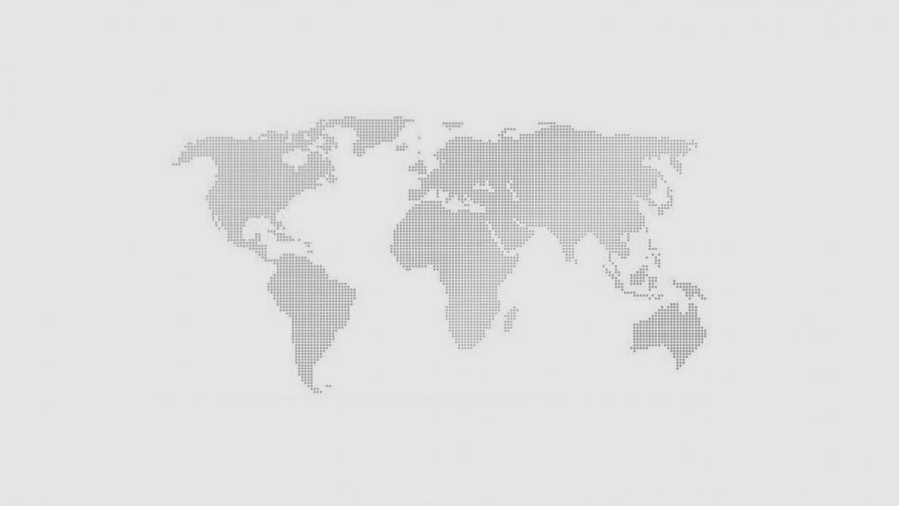 Worldmap dark gray art wallpaper