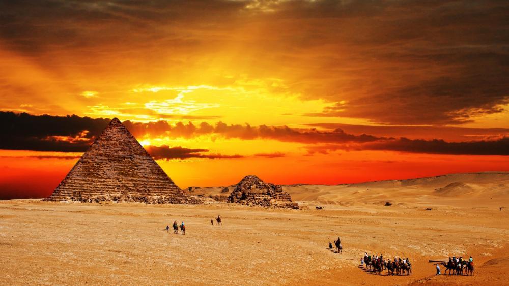 Giza Necropolis wallpaper