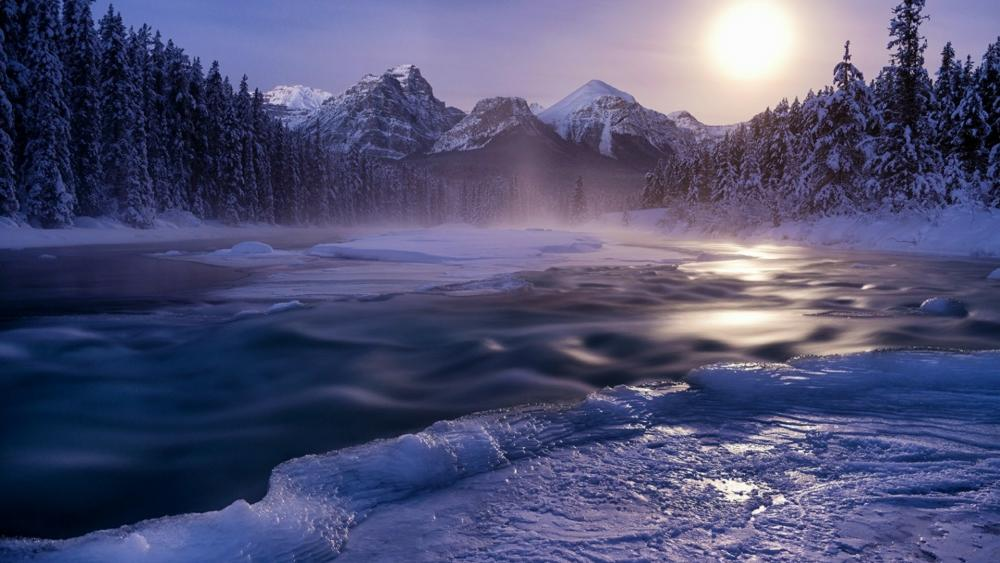 Bow Valley, Morants Curve view wallpaper