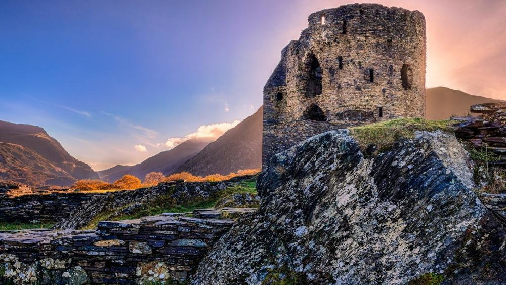 Dolbadarn Castle wallpaper