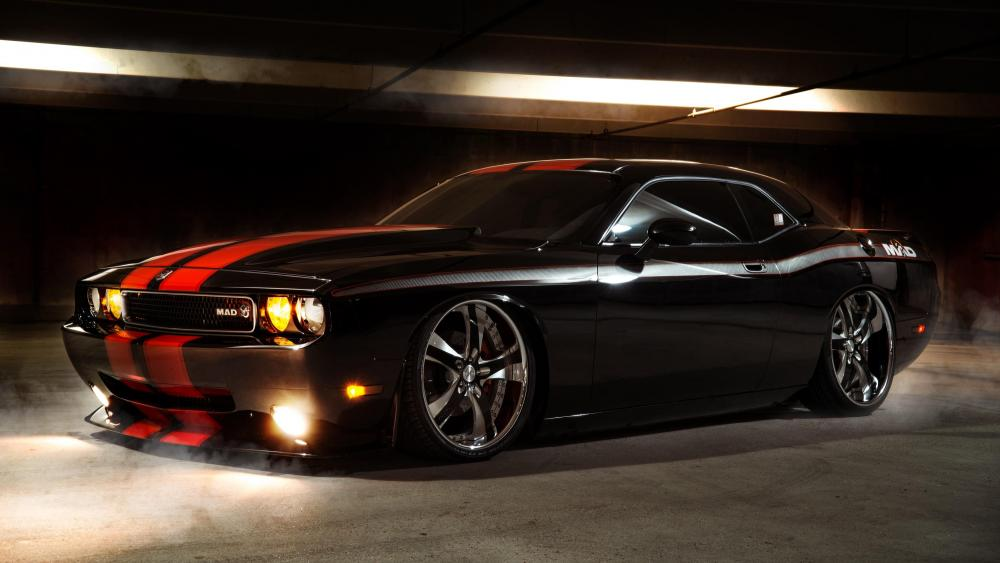 Dodge Challenger rally redlines wallpaper