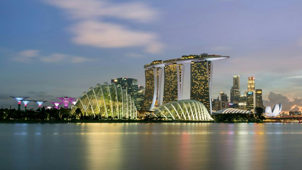 Marina Bay Sands, Singapore wallpaper