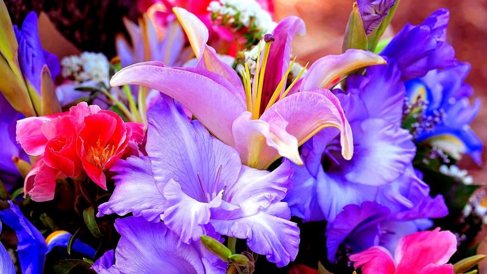 Lilie Flowers wallpaper