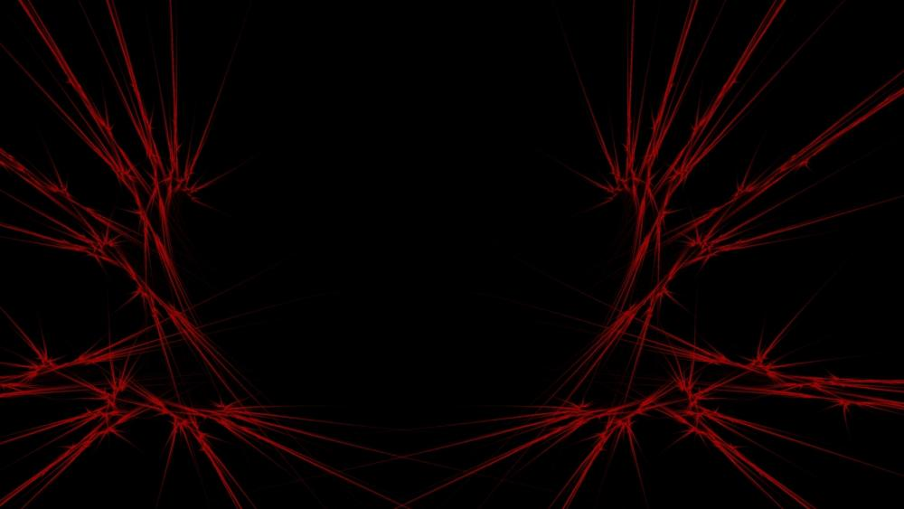 Black and red abstract art wallpaper