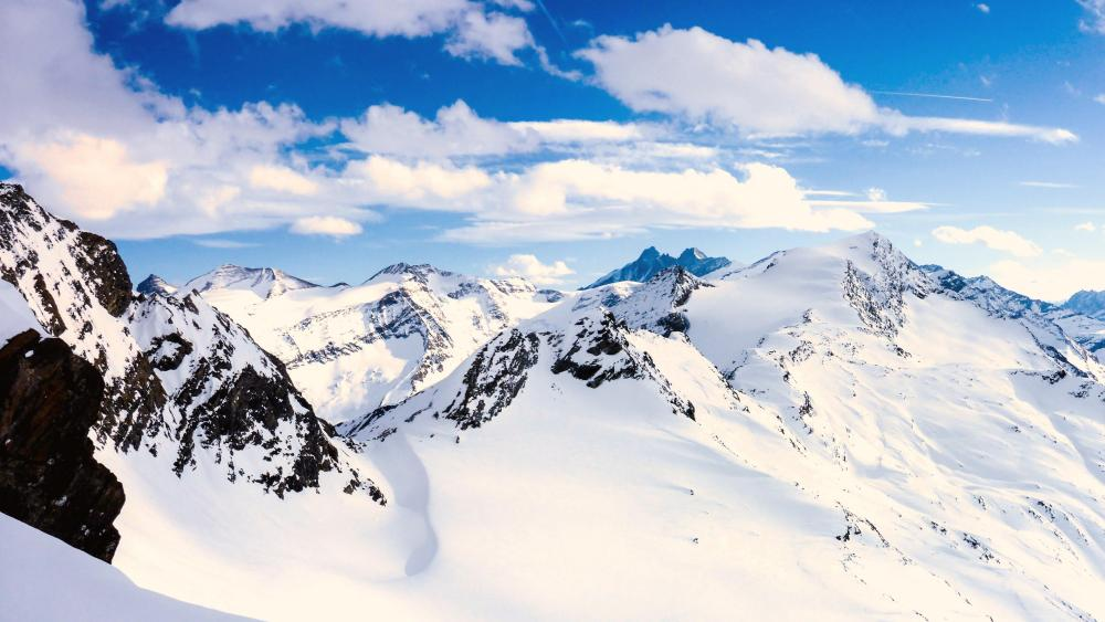 Alpine Alps wallpaper
