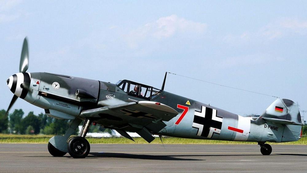 Messerschmitt BF 109 wallpaper