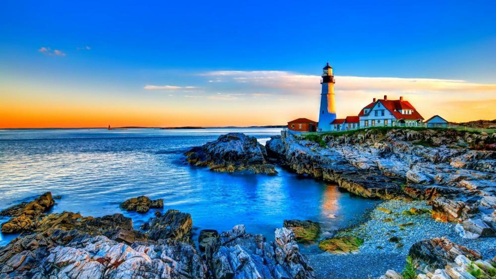 Portland Head Light, Maine wallpaper