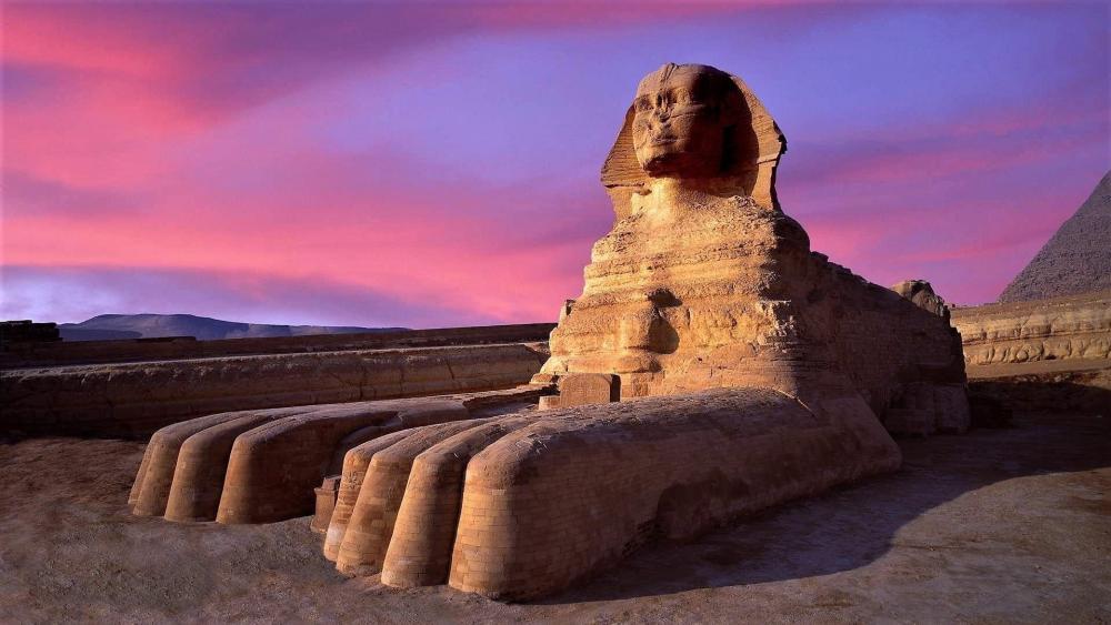 Great Sphinx of Giza wallpaper