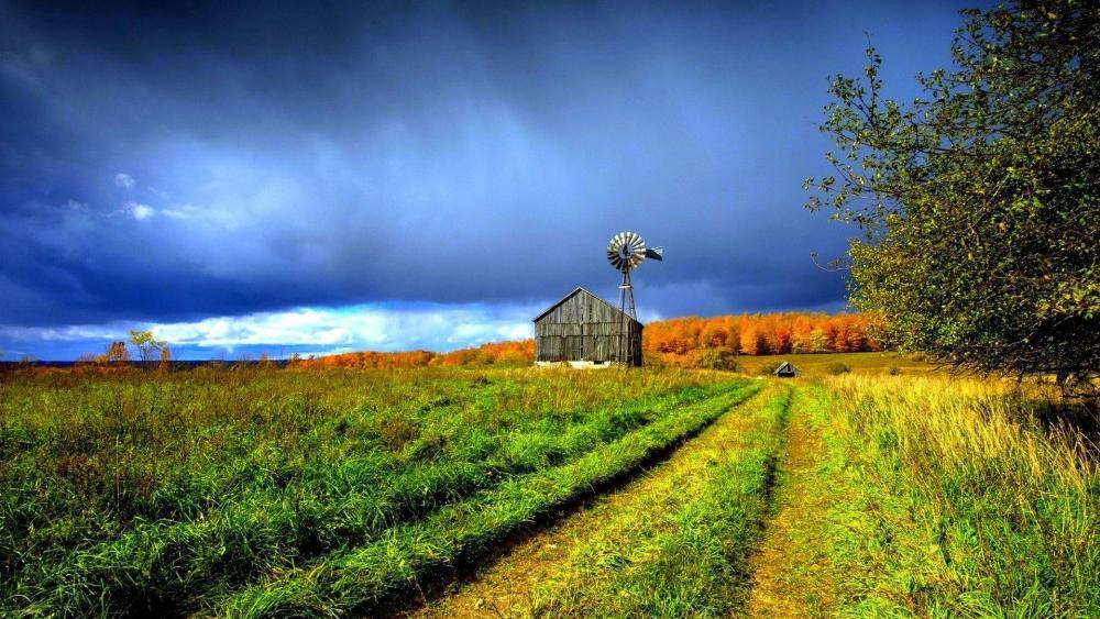 Argentina rural landscape wallpaper