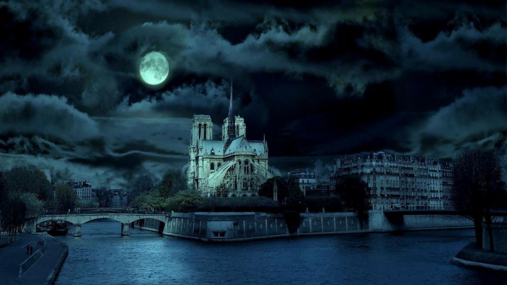 Notre Dame de Paris (Notre-Dame Cathedral) wallpaper