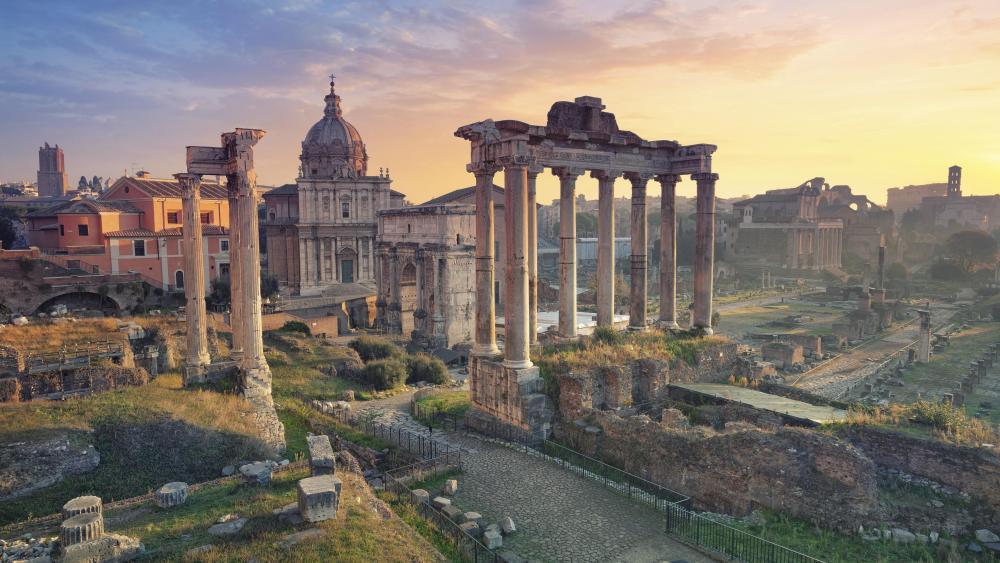 Roman Forum (Forum Romanum) wallpaper