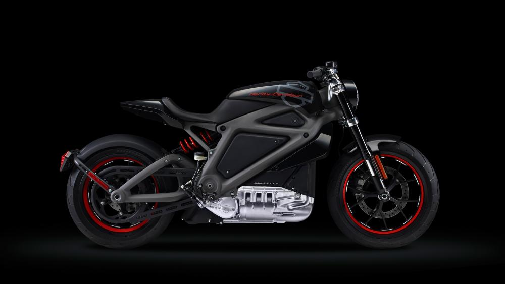 Harley Davidson Livewire Electric bike wallpaper