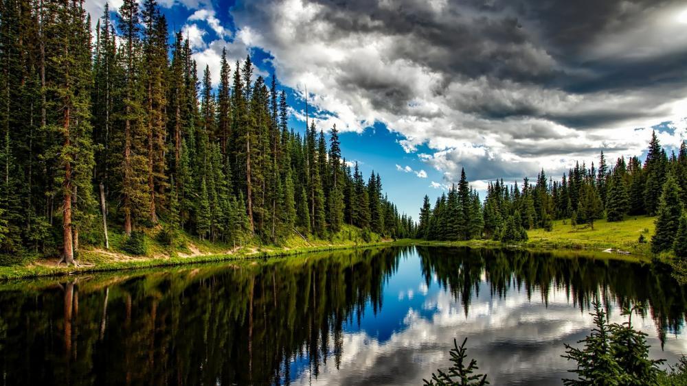 Lake Irene (Rocky Mountain National Park) wallpaper