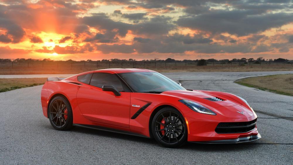 Corvette Stingray 2014 wallpaper