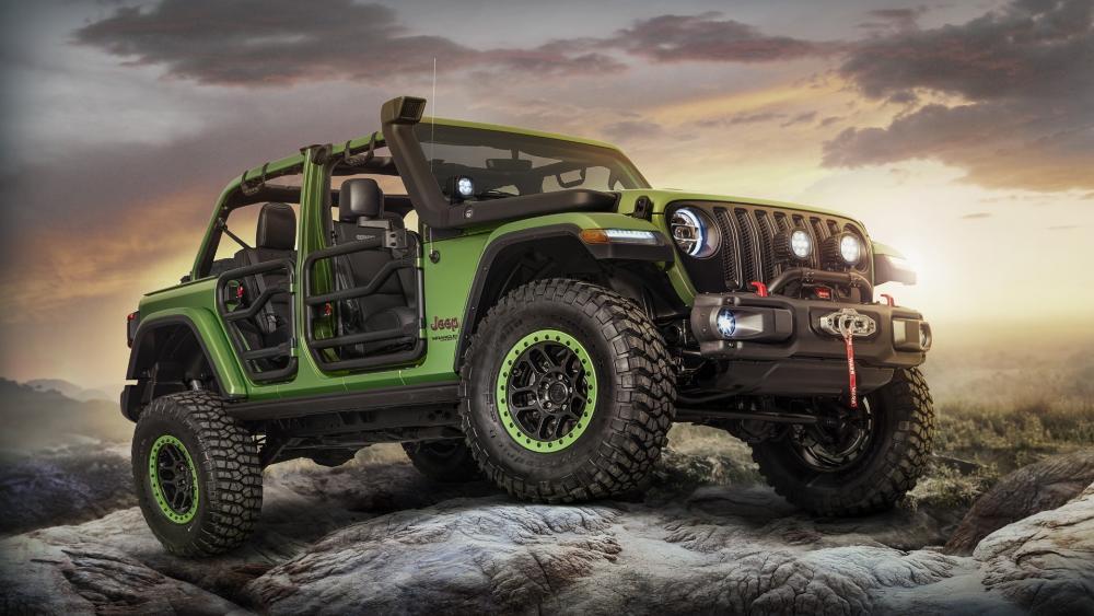 2018 Jeep Wrangler wallpaper