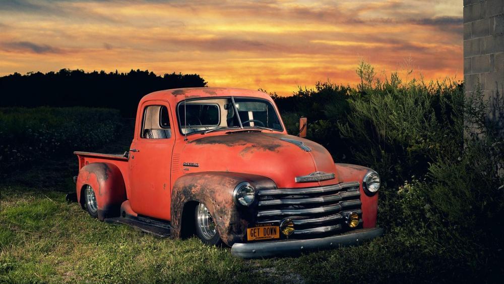 Chevy Advance Design Truck wallpaper