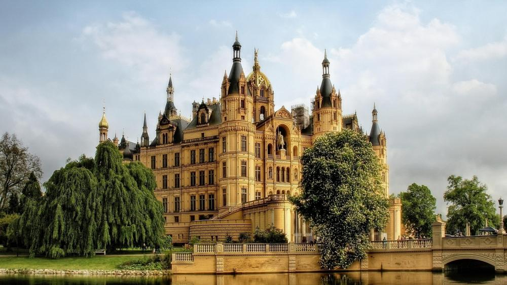 Schwerin Castle wallpaper