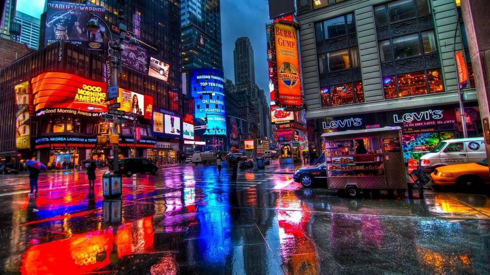 New York City Lights wallpaper