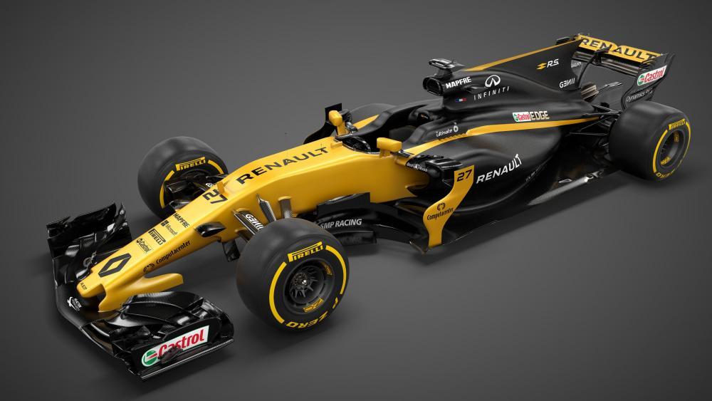 Renault RS17 racecar wallpaper