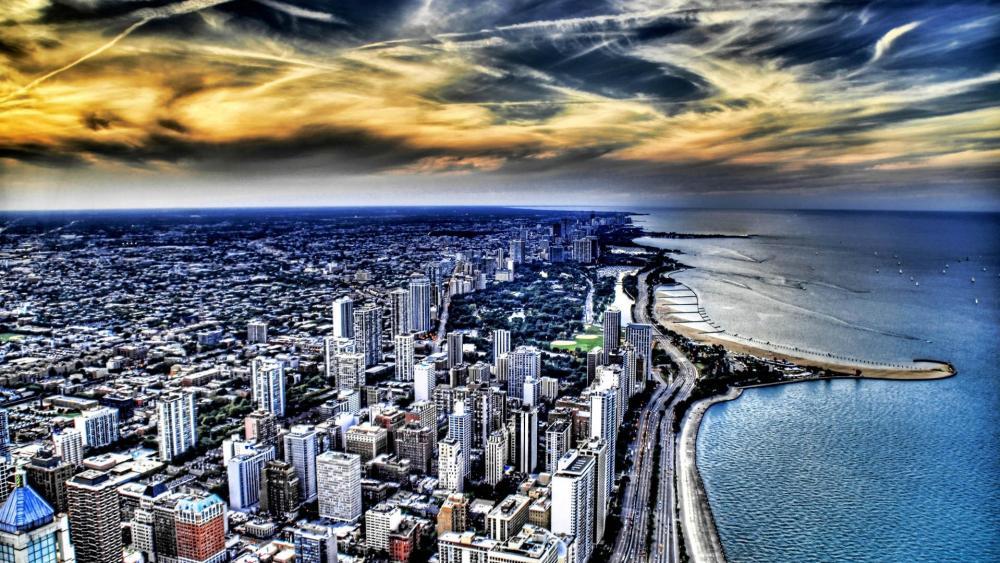 芝加哥 (Chicago) wallpaper