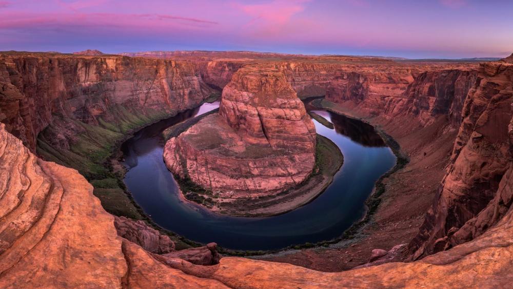 Horseshoe Bend (Colorado River) wallpaper