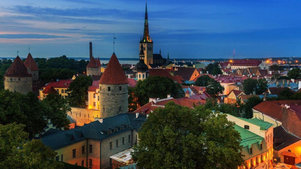 Tallinn, Estonia wallpaper
