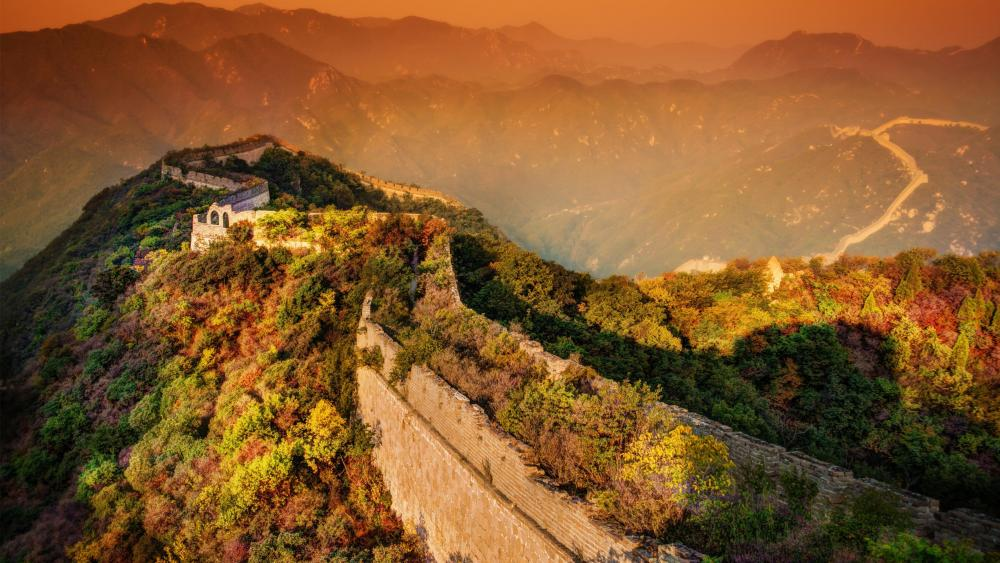 Great Wall of Badaling wallpaper