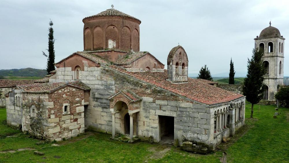 Monastery Church of St Mary at Apollonia, Albania wallpaper